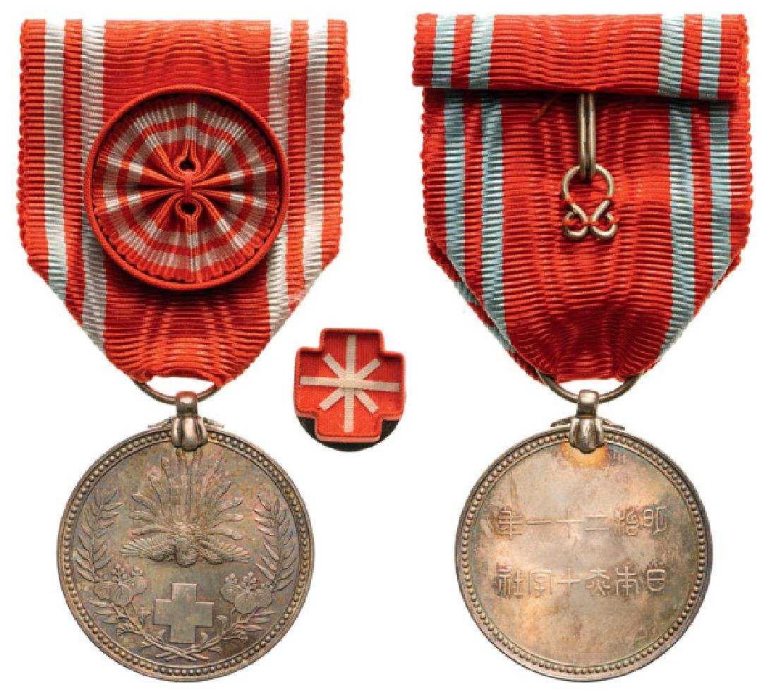 Red Cross Membership Medal, instituted in 1888 - 2