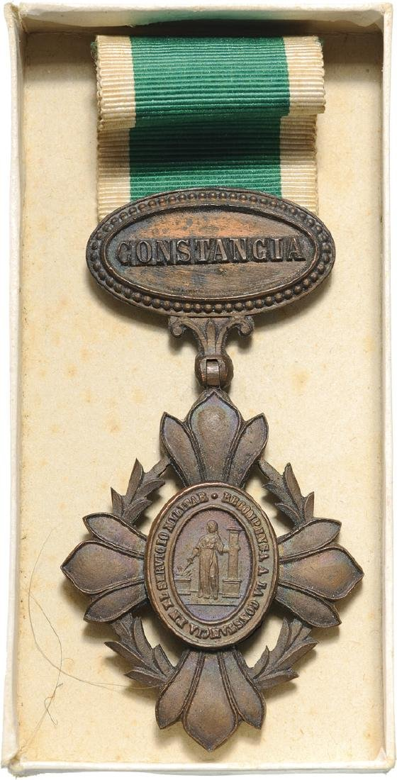 Military Constancy Cross for 25 Years' Service, Troop