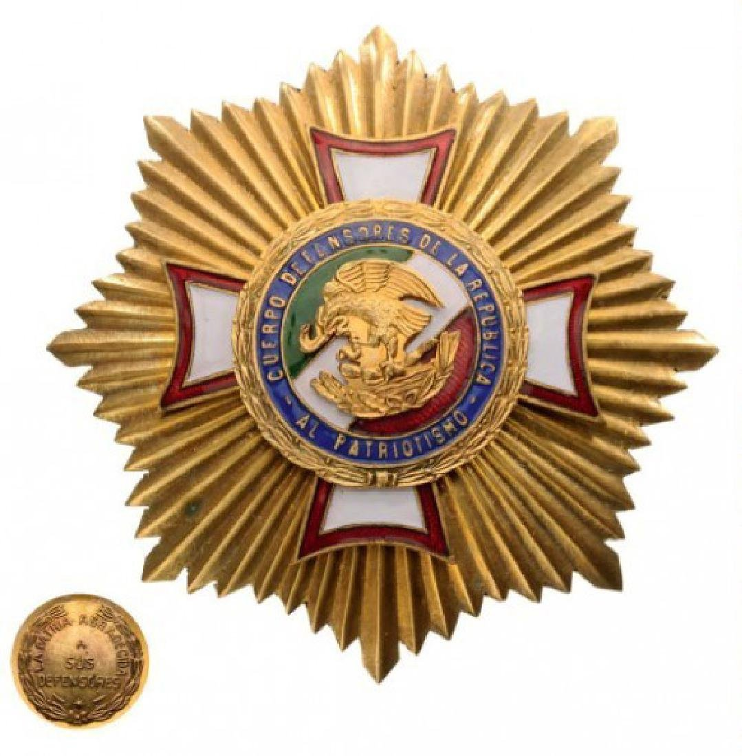 DECORATION OF THE DEFENDERS OF THE REPUBLIC STAR