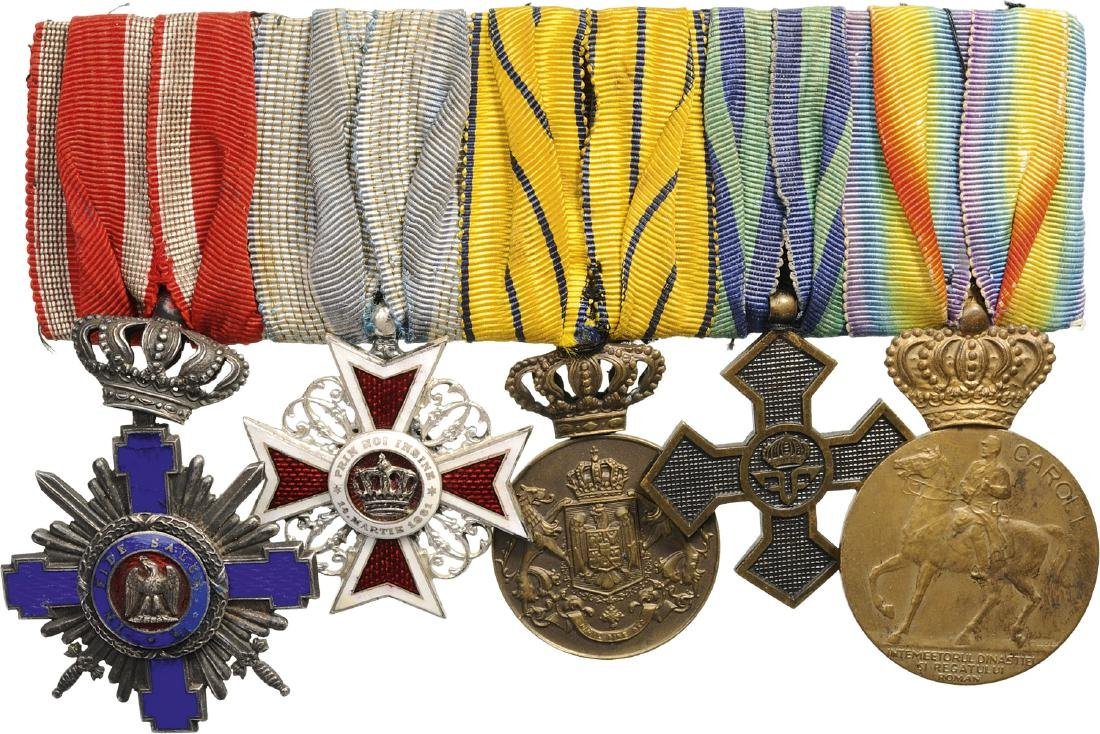 Group of Orders (2) and Medals (3)