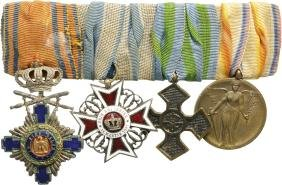 Group Of Orders (2) And Medals (2)