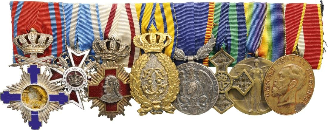 Group of Orders (2) and Medals (6)