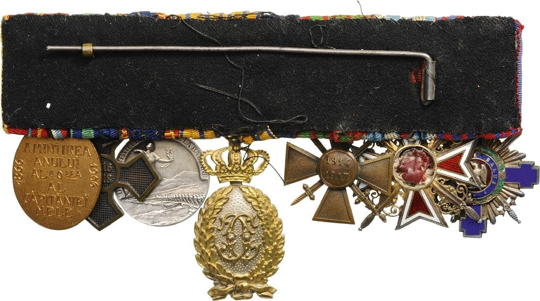 Bar of Orders (2) and Medals (5) - 2