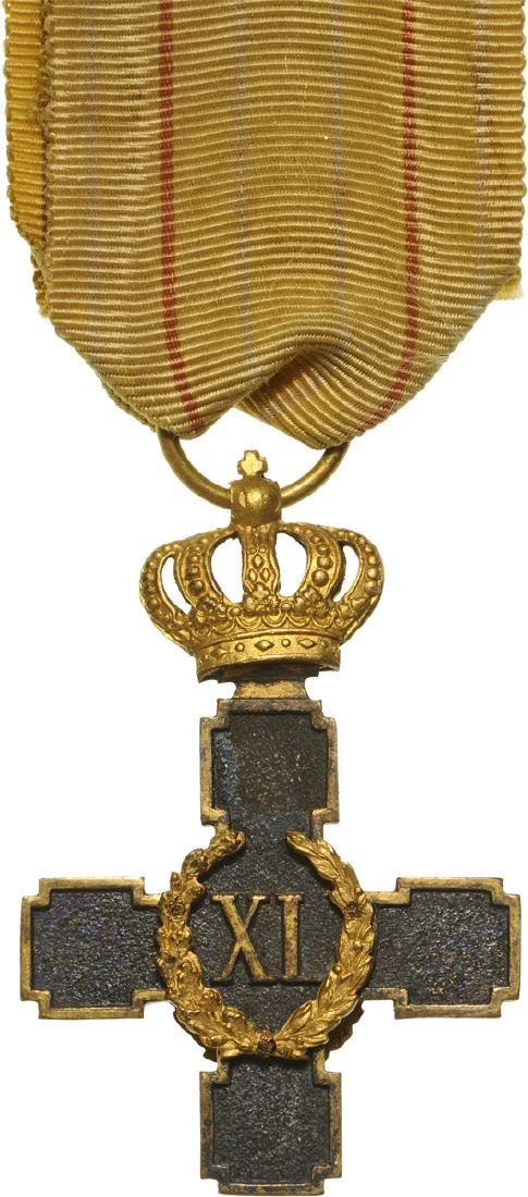 Honorofic Cross for 40 Years of Militar Service for