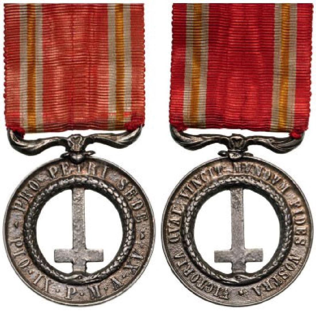 Castelfidardo Medal (Pro Petri Sede), instituted in