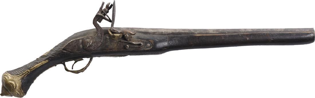 Otoman flintlock pistol, 18th Century