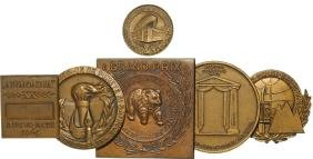 Lot of 17 Medals on Different Thematics