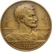 Carol II  Ronsard Academy Honor medal
