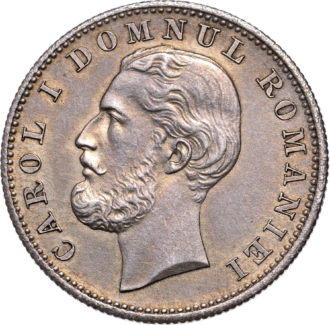 1 Leu 1870 C, Bucharest, Silver