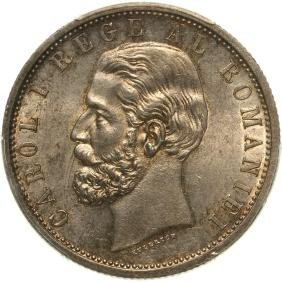 5 Lei 1901, Bucharest, Silver