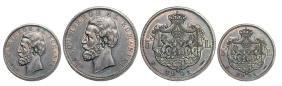 5 Lei 1901, Bucharest, Silver (24.98 g). A splendid