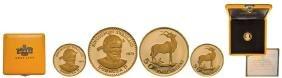 Sobhuza II (1968-1982), 50 Emalangeni 1975, Gold (4.28
