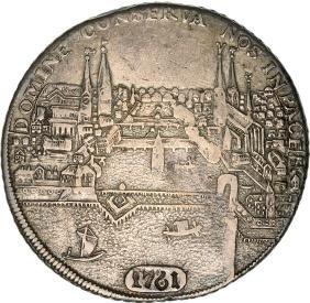 Zurich City, Taler 1721, Silver (27. 31 g)