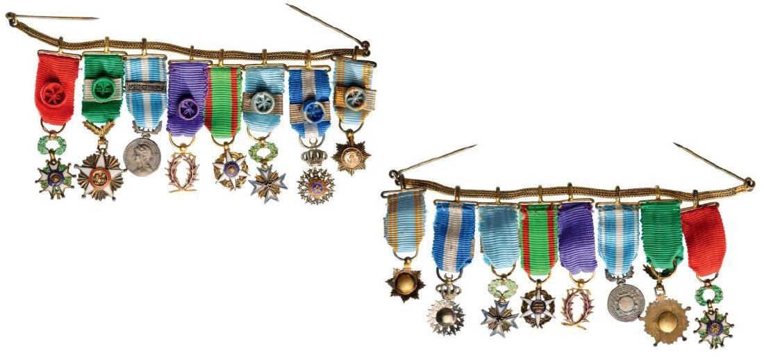 Medal Chain with 8 Decorations