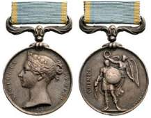Crimea Medal instituted in 1854