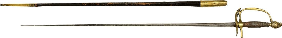 Officers Sword, First Empire, 1787 - 1789