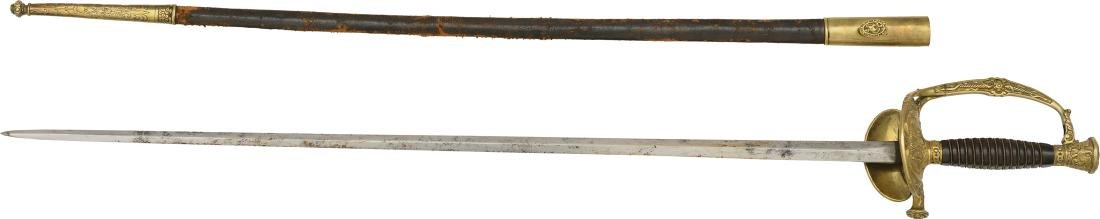 High Ranking Officer Sword of the Headquarters, Model
