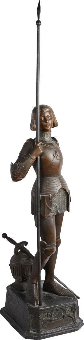 Statuette JEANNE D'ARC, end of 19th Century