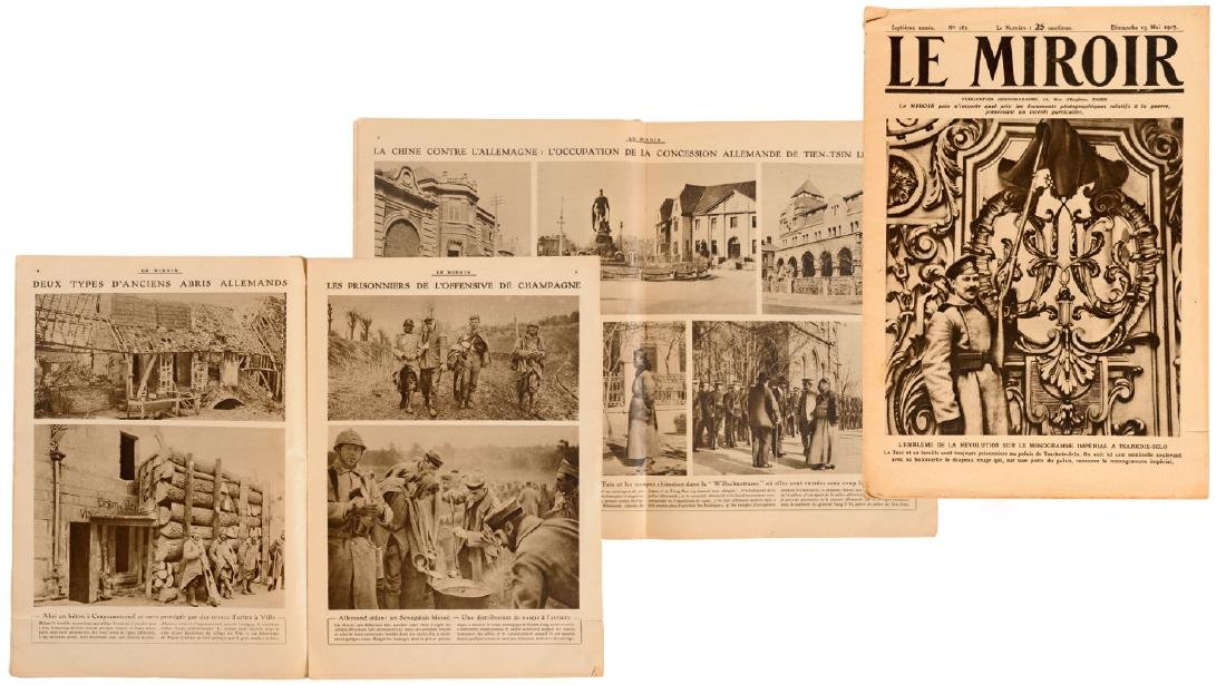 "Very rare French magazine ""Le Miroir"""