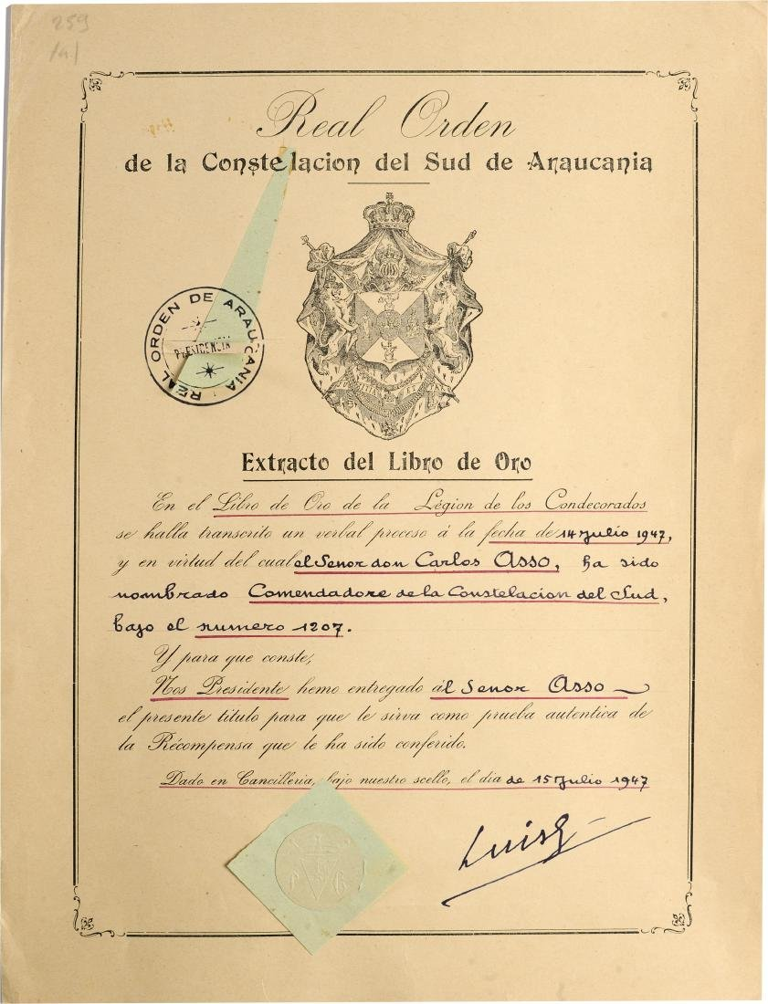 ORDER OF THE CONSTELLATION OF THE SOUTH