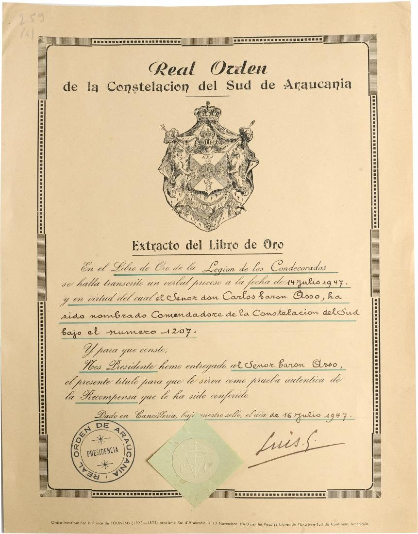 ORDER OF THE CONSTELLATION OF THE SOUTH - 3