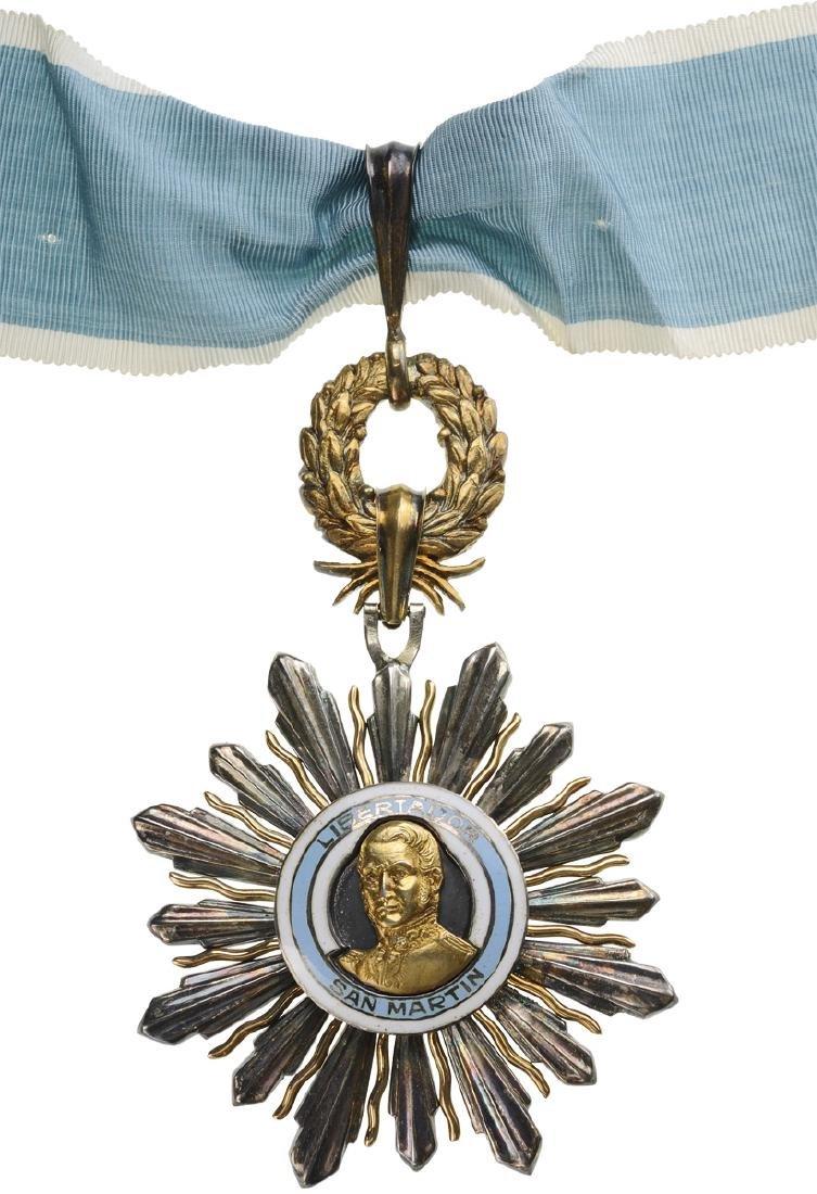 ORDER OF THE LIBERATOR GENERAL SAN MARTIN - 3