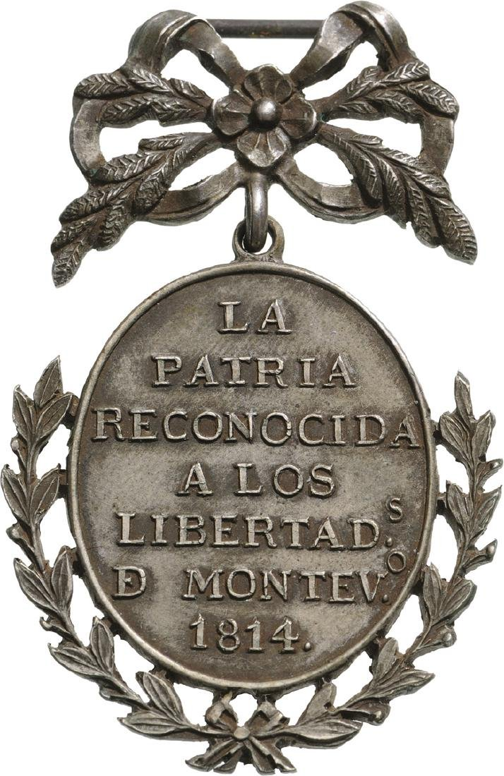 Medal for Toma de Montevideo, instituted in 1814