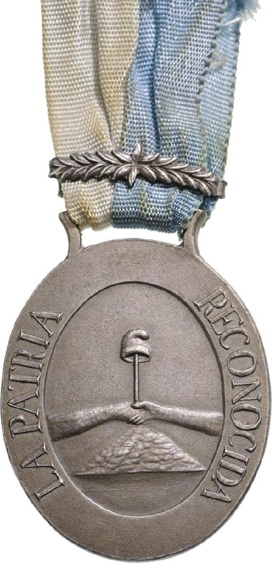 Medal for the Battle of Montevideo, instituted in 1814