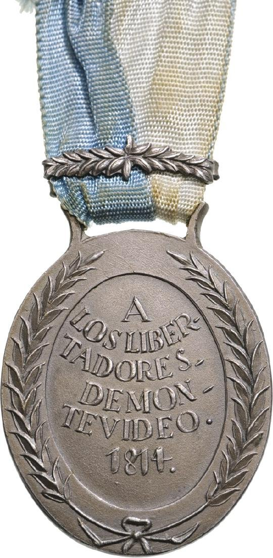 Medal for the Battle of Montevideo, instituted in 1814 - 2