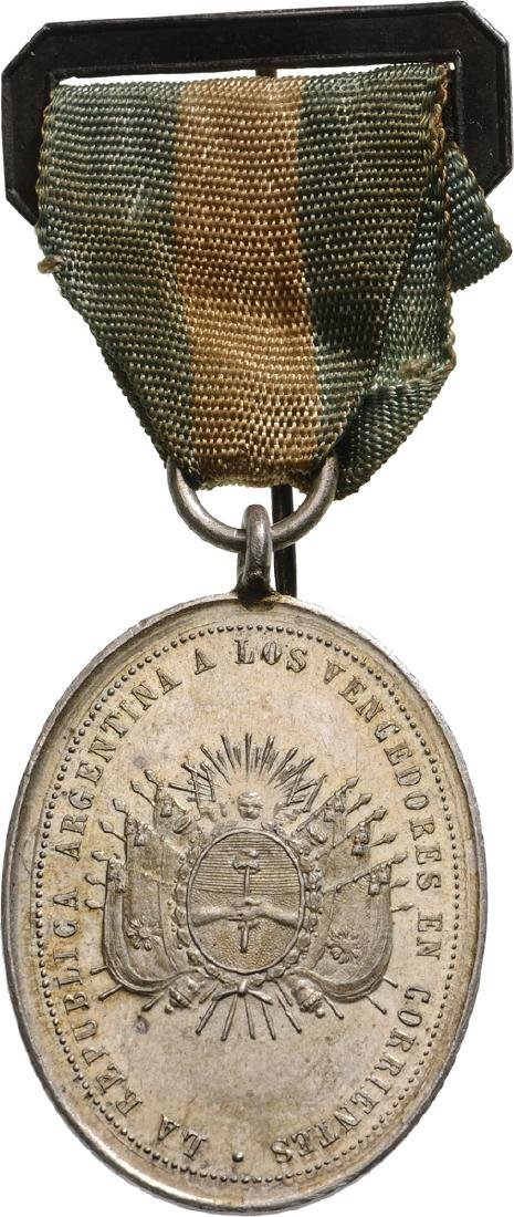 Medal for the winners of the Corrientes battle for