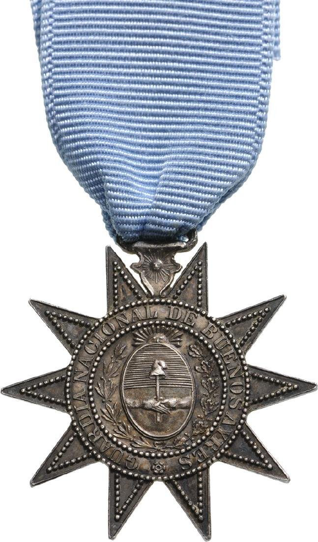Commemorative Medal of The National Guard of Buenos