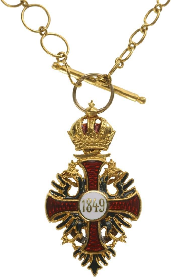 ORDER OF FRANZ JOSEPH, 1849 - 4