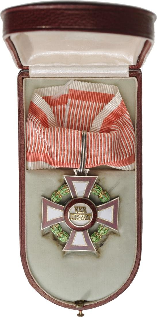 Cross for Military Merit, 2nd Class with War