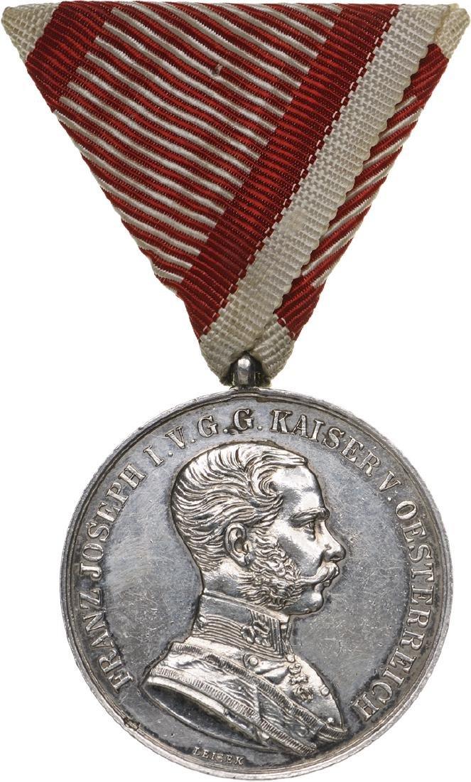 "Bravery Medal ""Der Tapferkeit†Franz Joseph I, Type"
