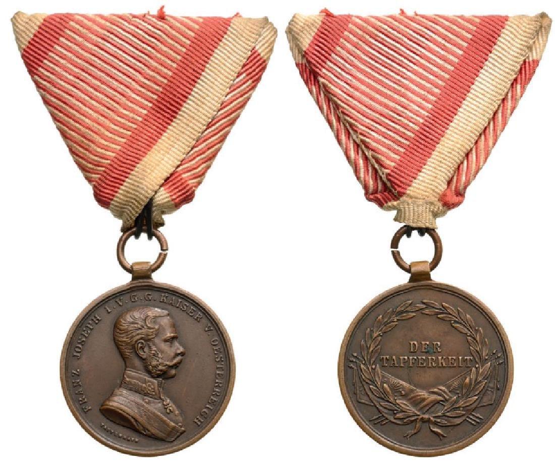 "Bronze Bravery Medal ""Der Tapferkeitâ€"