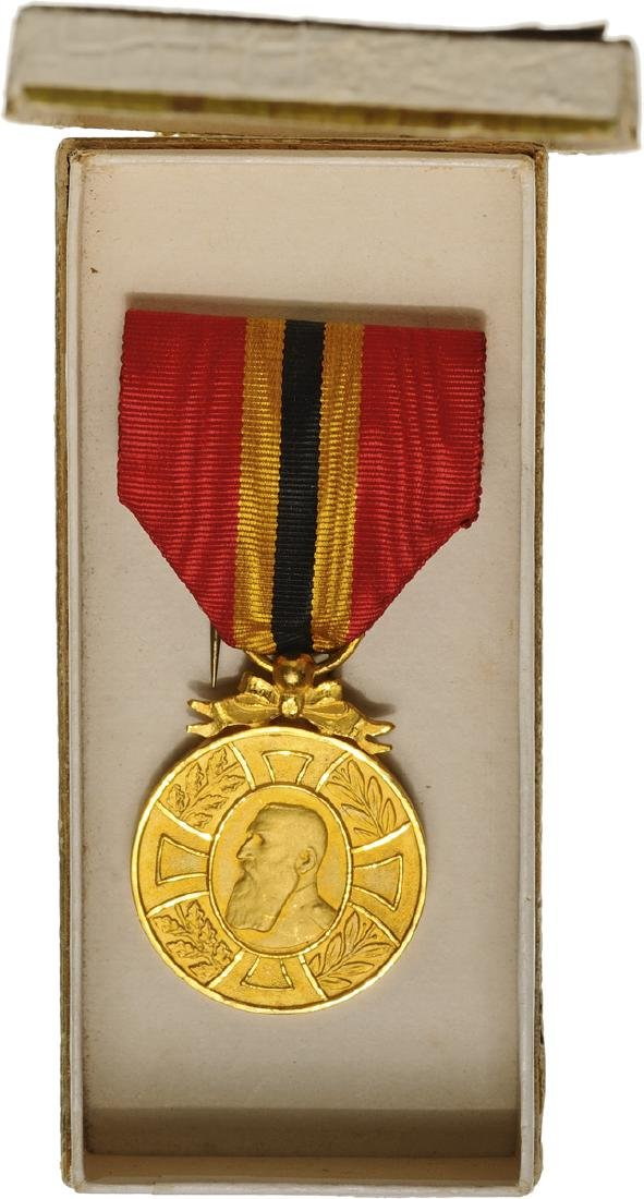 Commemorative Medal of Reign of King Leopold II,