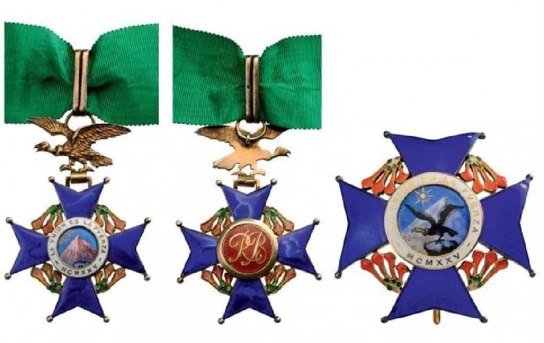 NATIONAL ORDER OF THE CONDOR OF THE ANDES