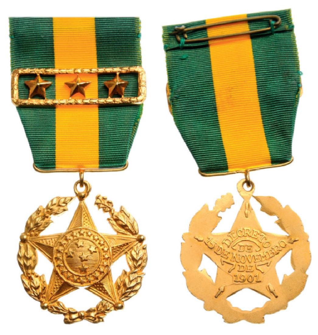 Military Long Service Medal, instituted in 1901, For 10