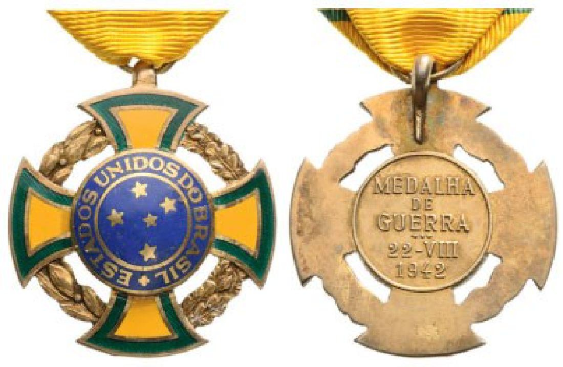 WORLD WAR II CROSS, instituted in 1944