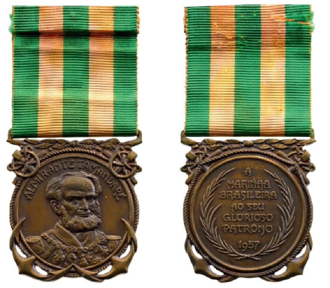Admiral Tamandare Medal, instituted in 1957