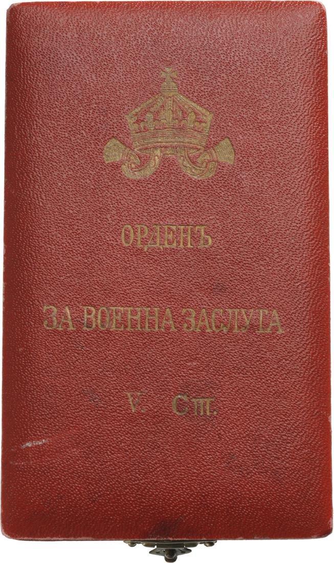 ORDER OF MILITARY MERIT, 1891