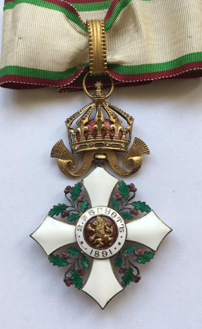 ORDER OF CIVIL MERIT, 1891 - 2