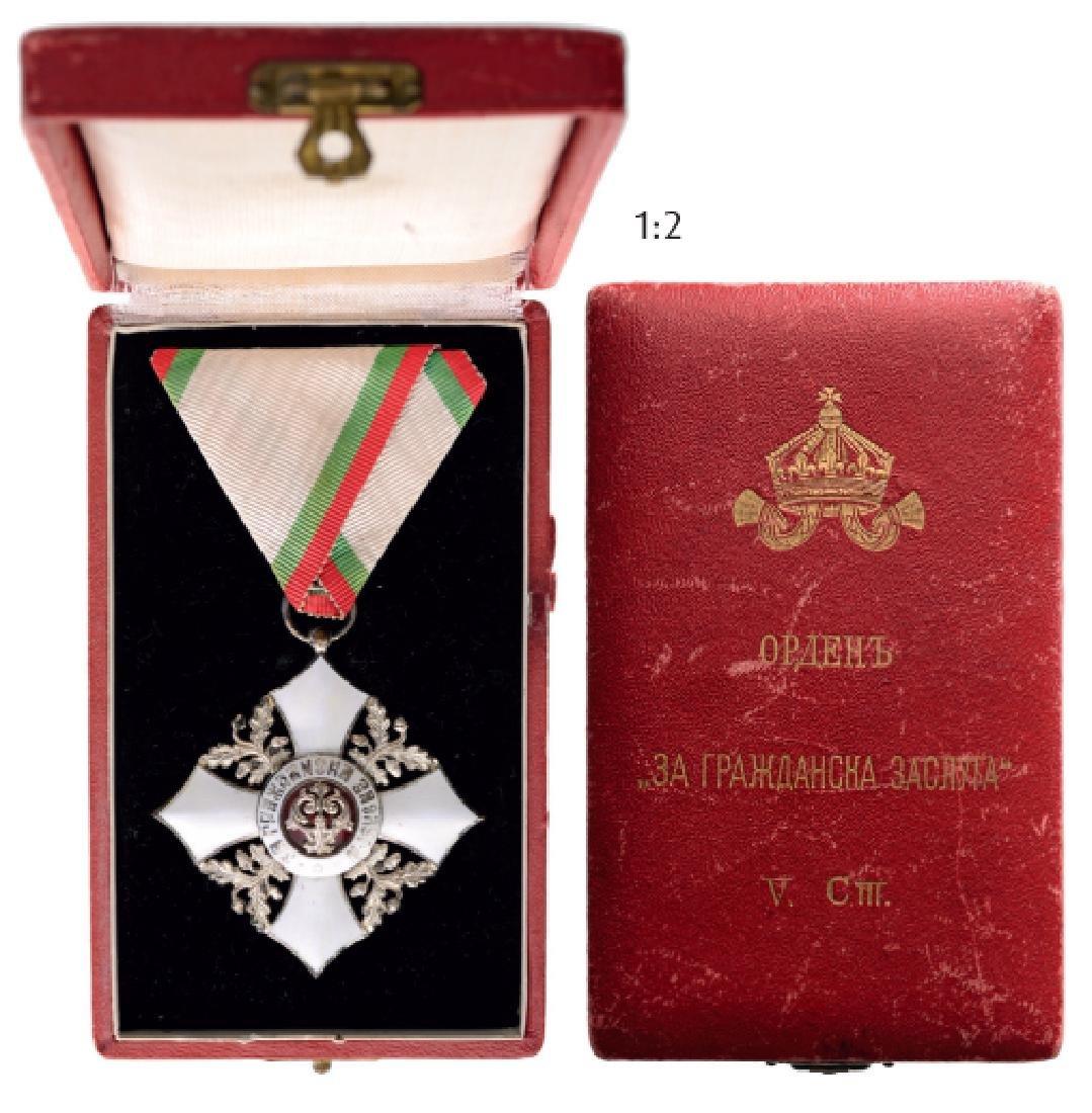 ORDER OF CIVIL MERIT, 1891
