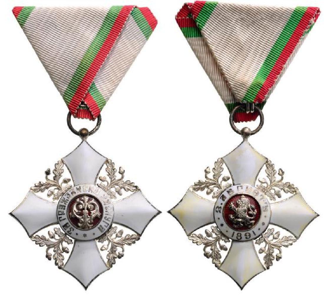 ORDER OF CIVIL MERIT, 1891 - 2