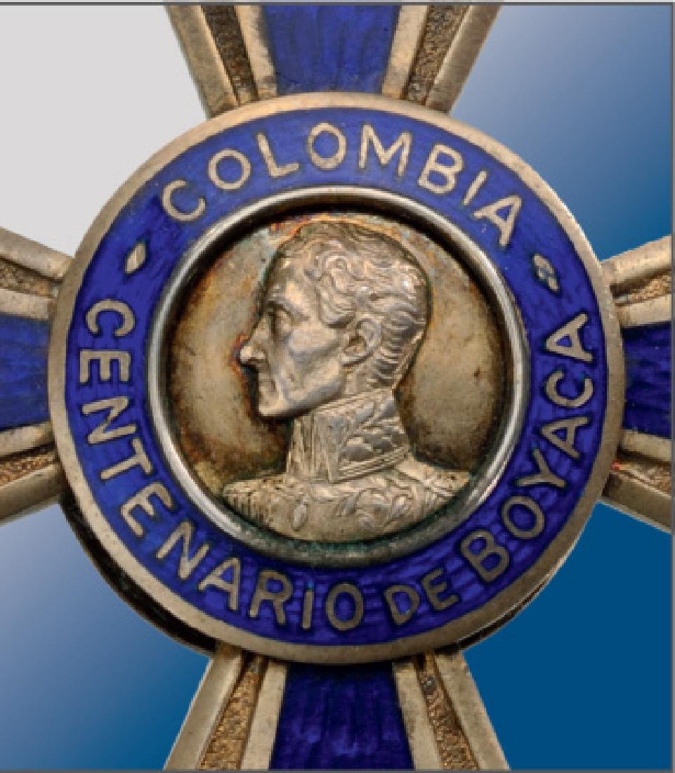 Centennial Cross of Boyaca, instituted in 1919 - 2