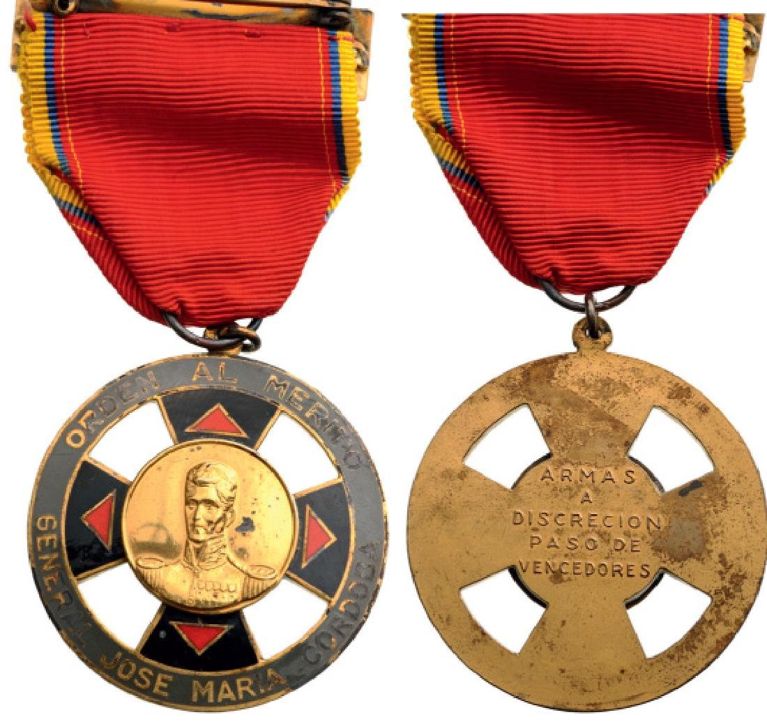 ORDER OF MILITARY MERIT, GENERAL JOSE MARIA CORDOVA