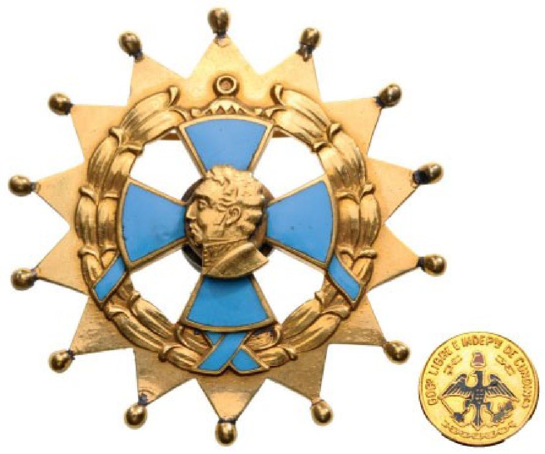 CIVIL ORDER OF ANTONIO NARINO (STATE OF CUNDINAMARCA)