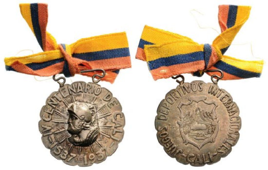 Medal for the 4th Centenary Anniversary of Cali
