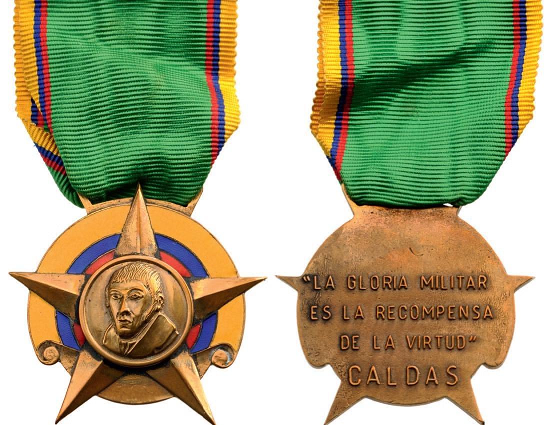 Medal of Jose Francisco Caldas