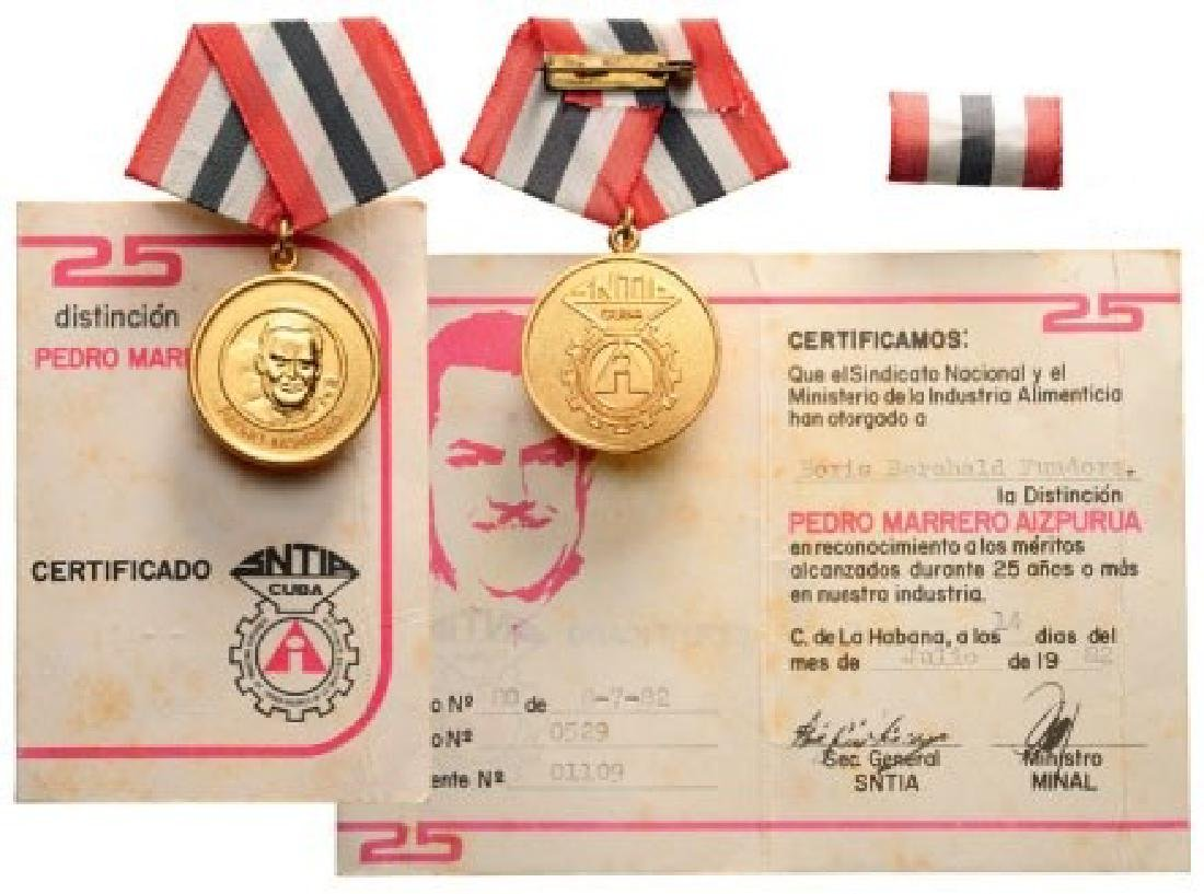 Pedro Marrero Medal
